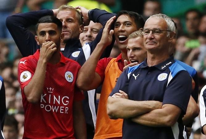 Riyad Mahrez Claudio Ranieri Leicester City