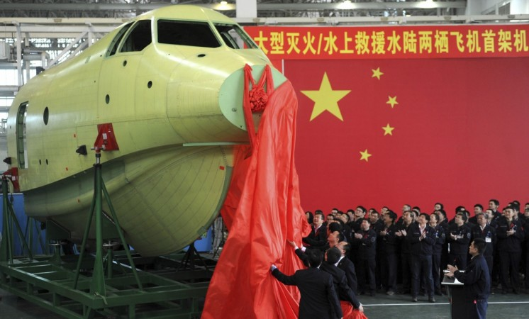 China's builds world's largest seaplane