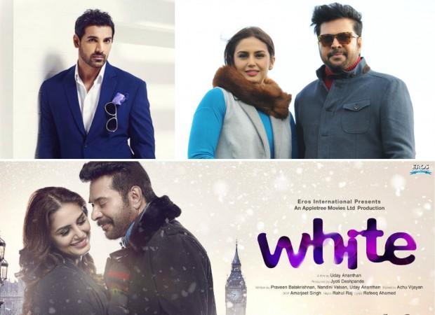 John Abraham recreates Mammootty's 'White' movie dialogue promo