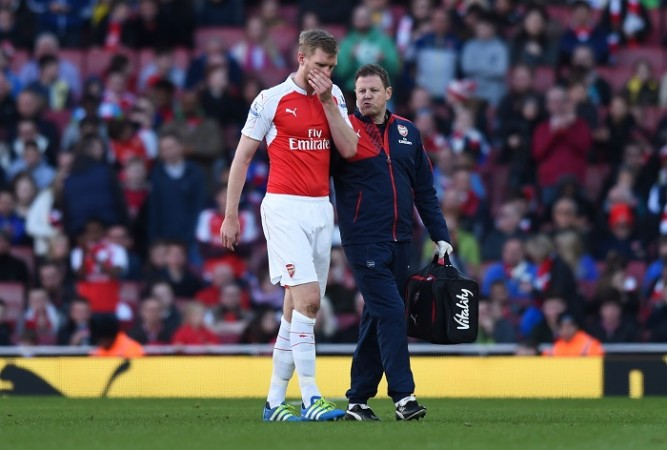 Per Mertesacker Arsenal Colin Lewin