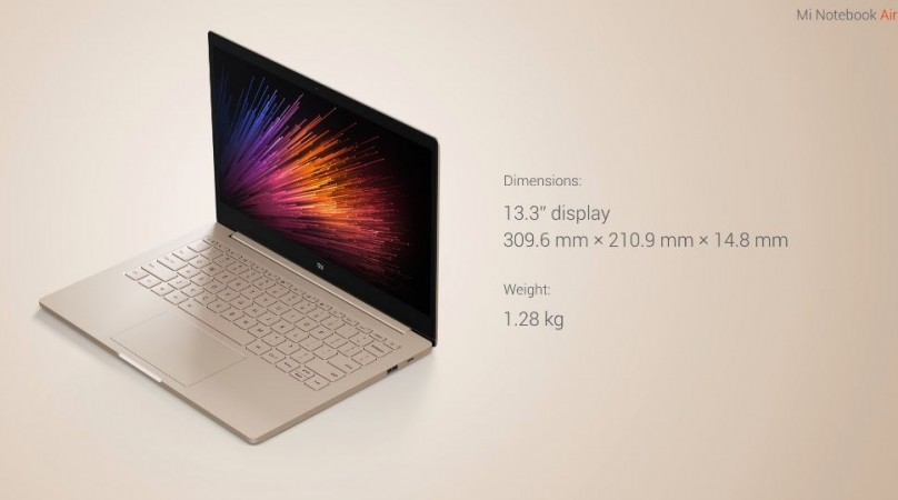 Xiaomi Mi Note Air launched