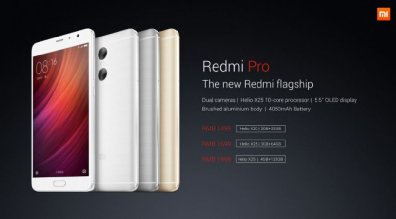 Xiaomi product launch event live updates: Metal-clad Redmi Pro and Mi Note Air unveiled