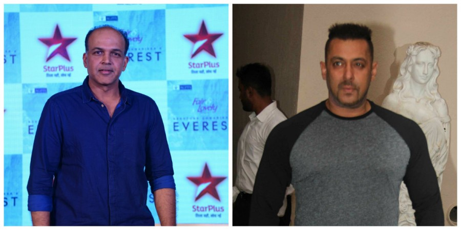 Ashutosh Gowariker and Salman Khan
