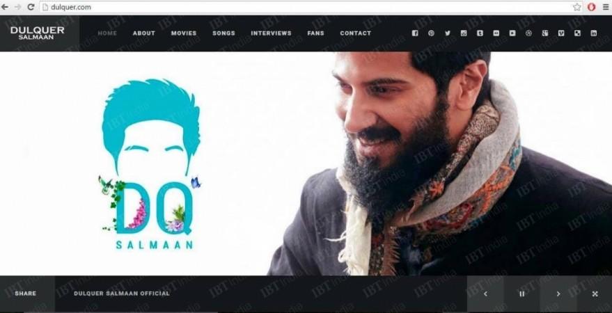Dulquer Salmaan Website