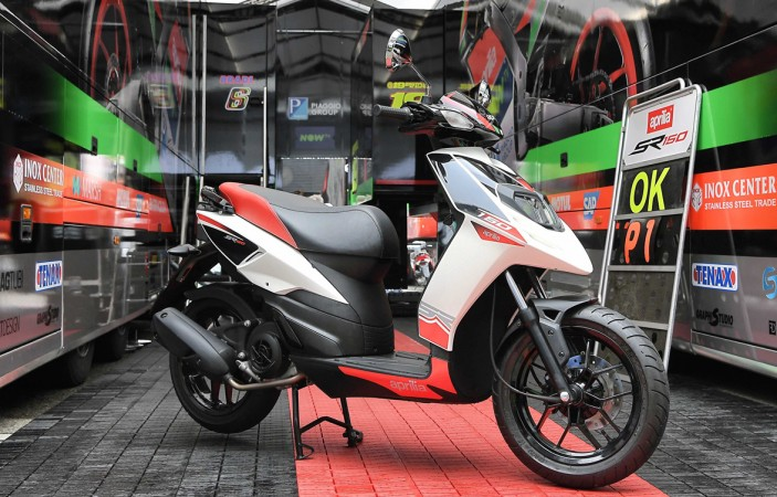 Aprilia SR 150 starts reaching showrooms ahead of August launch
