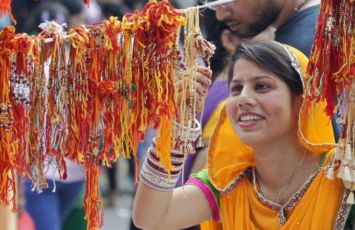 Raksha Bandhan celebrates the relationship between a brother and sister.