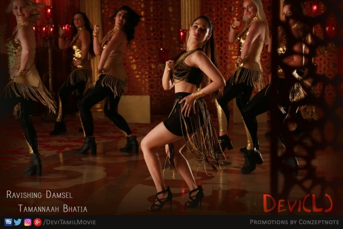 Tamannaah's 'Devi(L)' teaser to be out on Monday