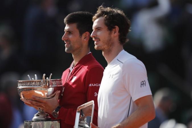 Novak Djokovic Andy Murray French Open 2016