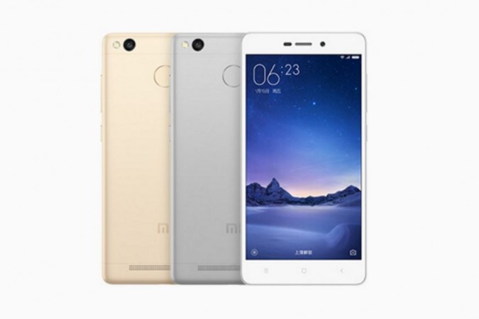Xiaomi Redmi Redmi 3S will be available on Aug. 17