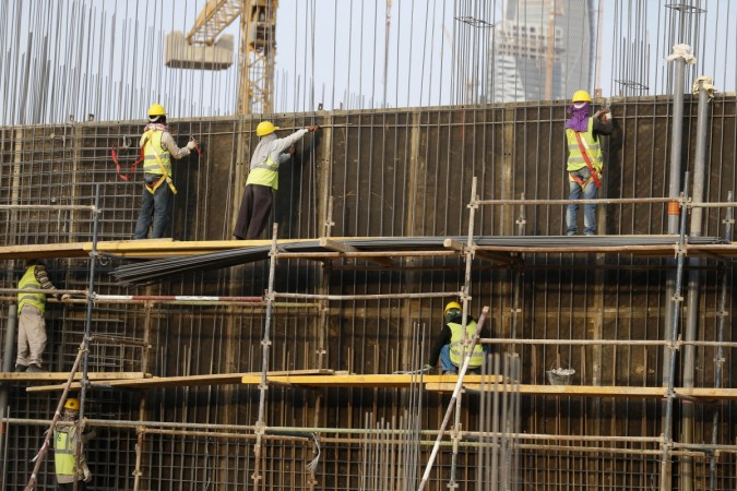 Indians working in Saudi Arabia