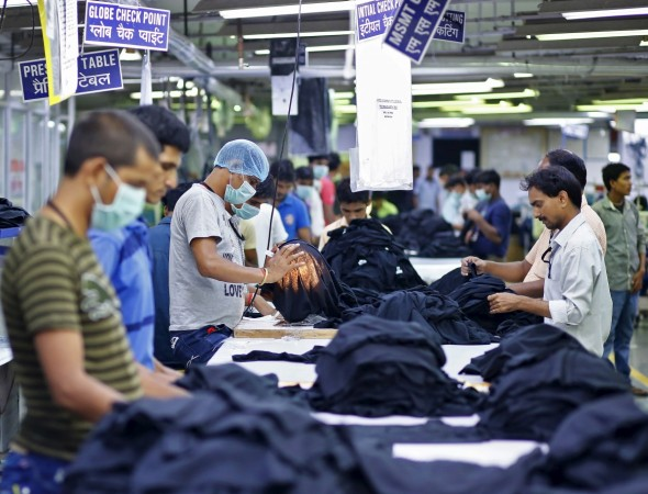 textile gdp growth hi nirmala lok sabha modi govt demonetisation india growth rate economy world's fastest bse nse sensex price goods iip factory output