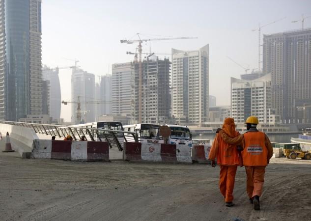 Migrant workers in Dubai