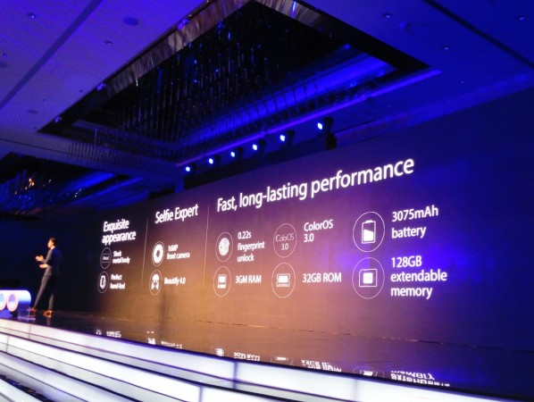 Oppo F1 Plus launch live