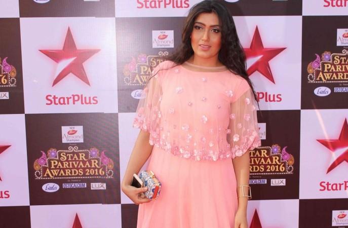 "Shireen Mirza in ""Yeh Kahan Aa Gaye Hum."" Pictured: Shireen Mirza in Star Parivaar Awards 2016"