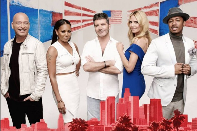 judges and host of America's Got Talent