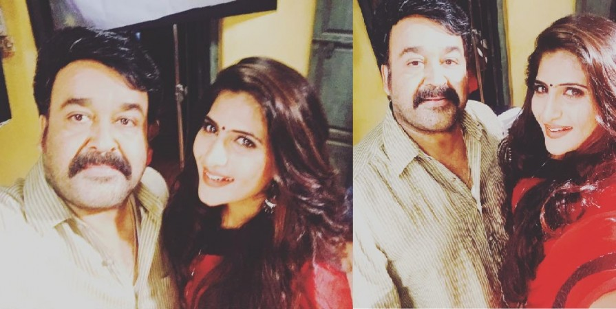 Mohanlal and Neha Saxena