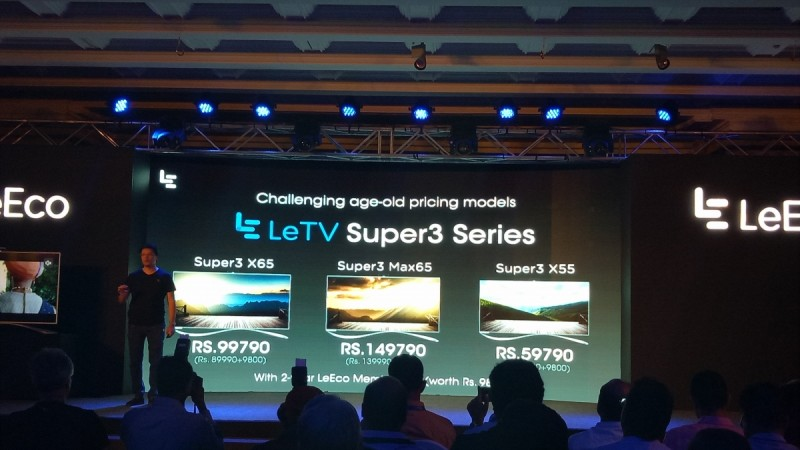 LeEco SuperTV launch