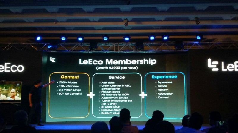 LeEco Super TV series India launch live updates