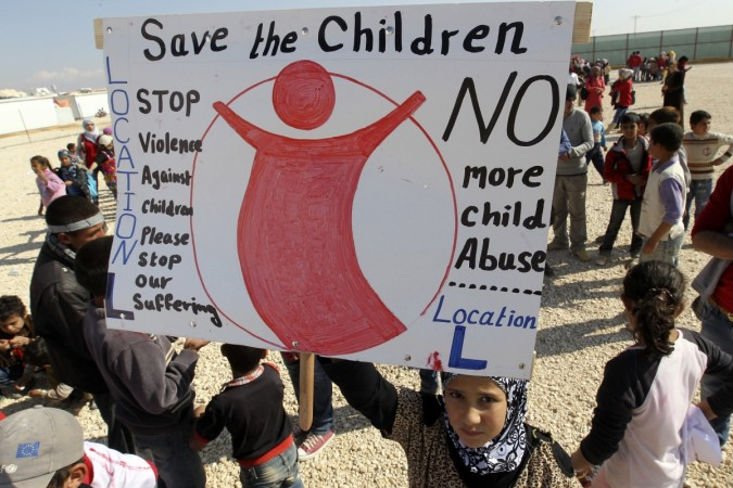 Save the children, Violence against children