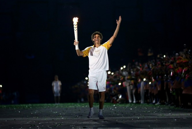 Gustavo Kuerten Rio Olympics Opening Ceremony