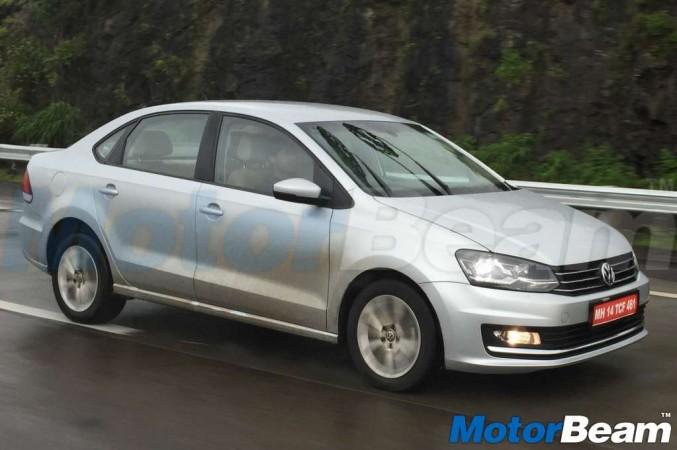 Volkswagen Vento to get LED headlight?
