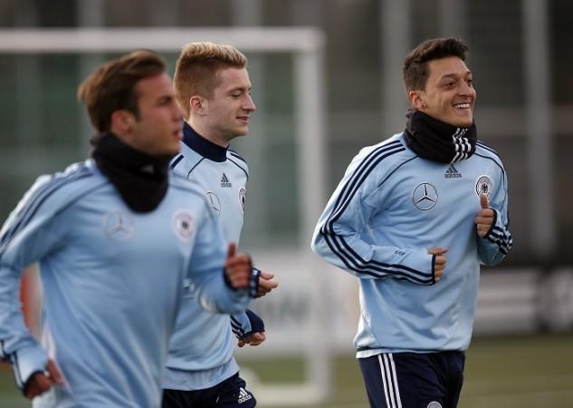 Marco Reus Mario Gotze Mesut Ozil