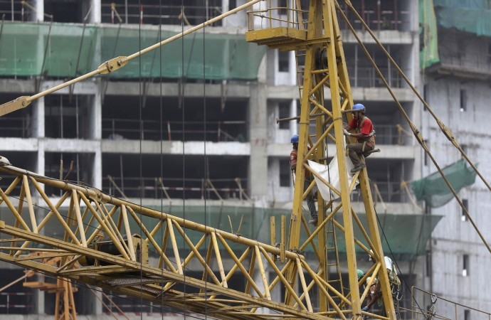 construction workers real estate residential property increase activity gst rest reit bill tax rate standard india metros rent owner launches launch gdp june slowdown
