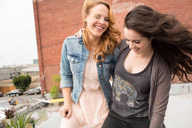 """Daphne and Bay from """"Switched at Birth"""""""