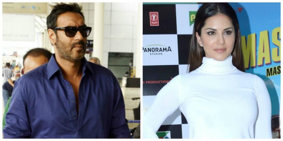 Ajay Devgn and Sunny Leone