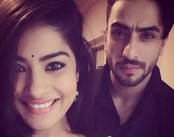 "Aly Goni opens up about rumours of him dating Krisha Mukherjee. Pictured: 'Yeh Hai Mohabbatein"" actors Krishna Mukherjee and Aly Goni."