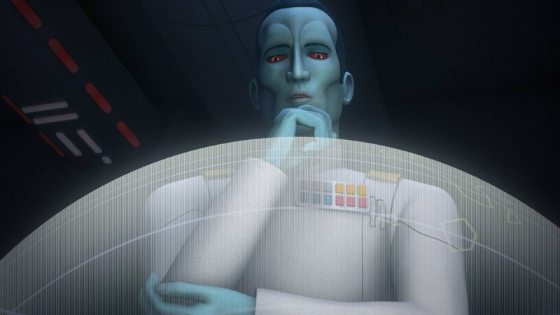 Grand Admiral Thrawn all set to appear in 'Star Wars Rebels' Season 3
