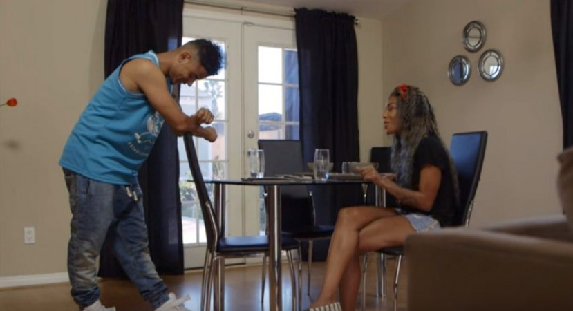 Lil Fizz and Moniece Slaughter are living together