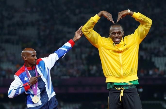 Mo Farah Usain Bolt