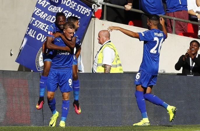 Jamie Vardy Ahmed Musa Riyad Mahrez Leicester City