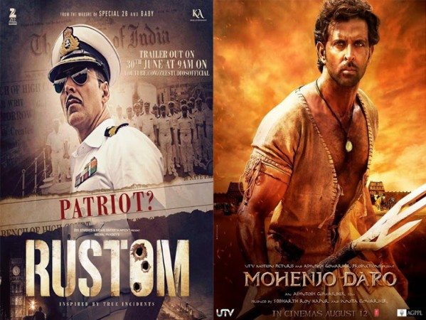 """Rustom"" and ""Mohenjo Daro"""