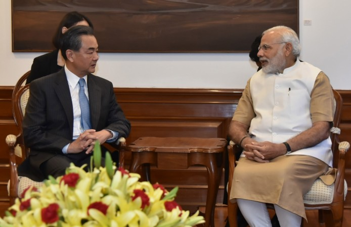 Minister of Foreign Affairs of the People's Republic of China, Wang Yi, called on Prime Minister Narendra Modi in New Delhi on Aug. 13, 2016.