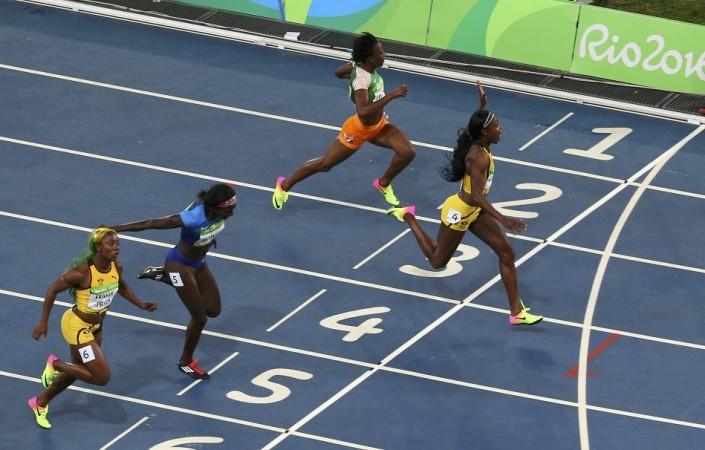 Elaine Thompson 100m Rio Olympics