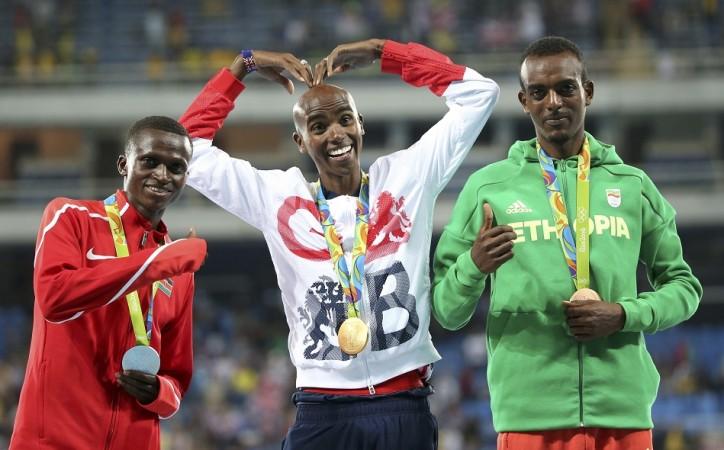 Mo Farah Rio Olympics