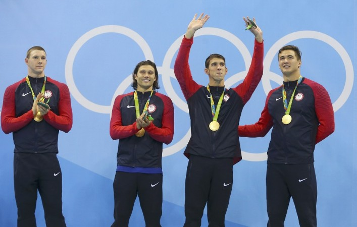 Michael Phelps Rio Olympics