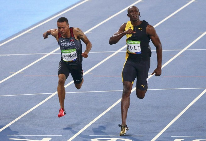 Usain Bolt 100m Rio Olympics
