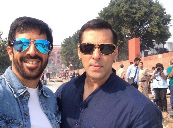 Kabir Khan and Salman Khan