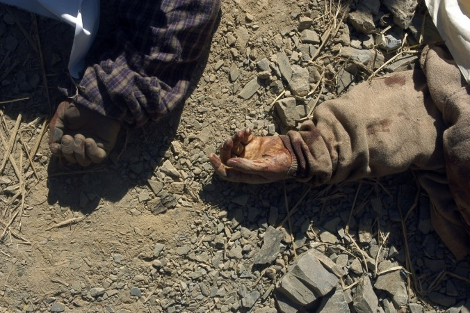 [Representational Image] In Picture: Bodies of bus passengers lie on the ground after the bus they were travelling in fell into a gorge near Lambi Dhar, 22 km (14 miles) from the northern Indian city of Shimla, Nov. 4, 2008.