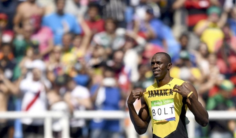 Usain Bolt Jamaica Rio Olympics