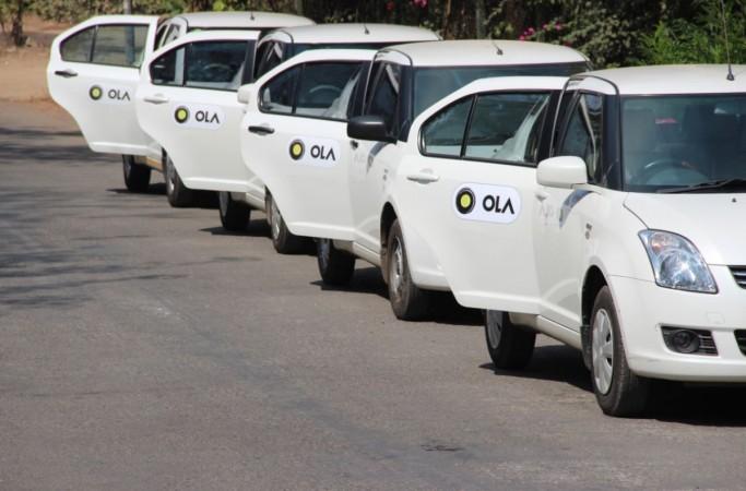 Ola cabs will dispense cash