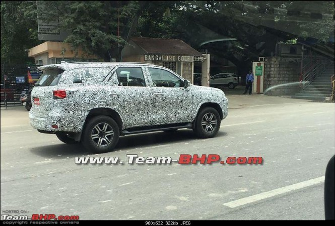 New Toyota Fortuner returns in fresh spy shots