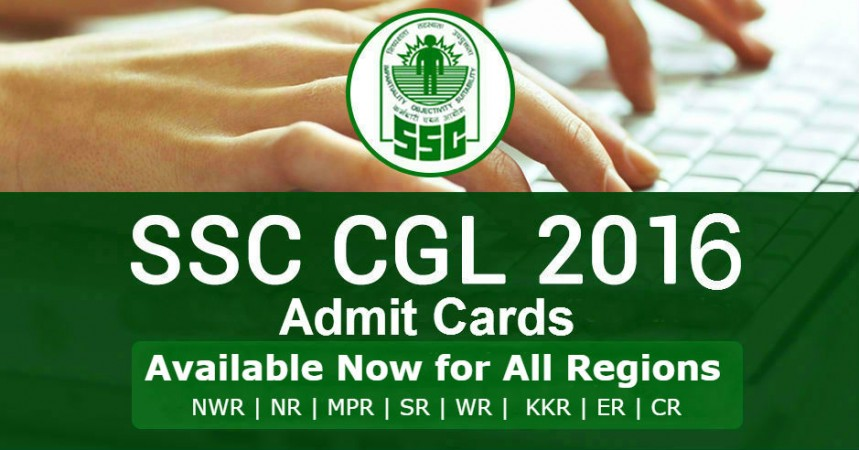 Where to download Combined Graduate Level Tier 1 2016 exam admit card