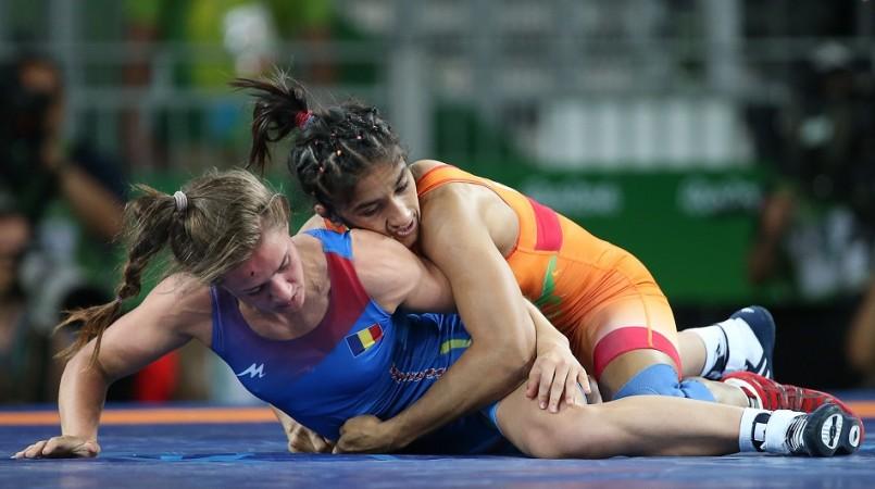 Vinesh Phogat Rio Olympics