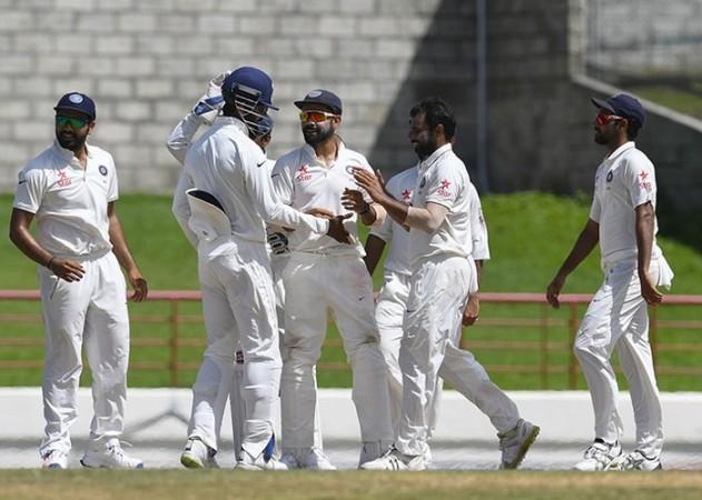 Shami Kohli India West Indies