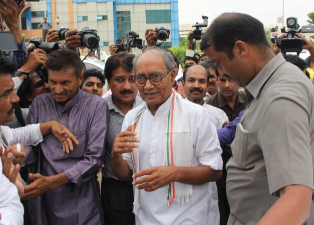 Cases booked against Digvijaya for his comments on Telangana Police