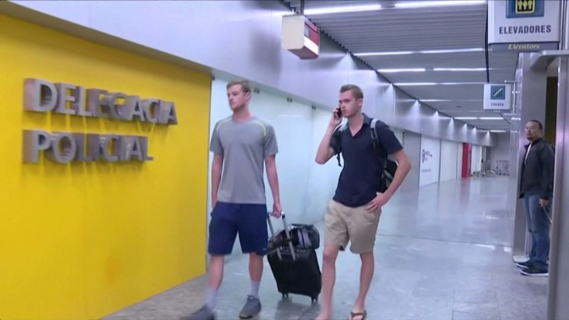 US Swimmers detained in Rio